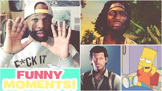 Funny Moments Montage Vol. 34! - The Evil Within, Walking Dead, And More! - Panda & Mixtape Is Fire
