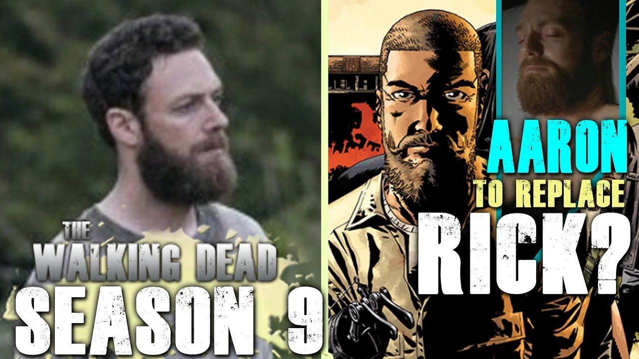 The Walking Dead Season 9 Is Aaron Our Future Rick