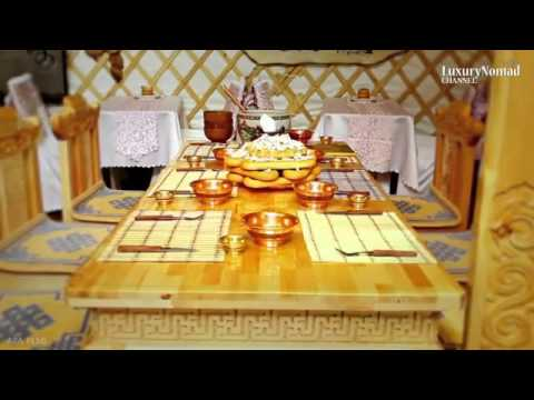 LUXURY MONGOLIA Palace yurt ger