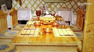 LUXURY MONGOLIA Palace yurt ger