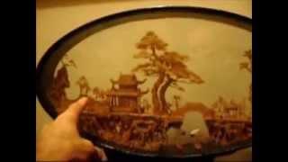 Cork Art , from China (1988)