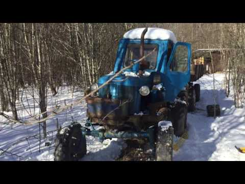 Трактор Беларусь юмз-6Л C прицепом (продаётся на авито)