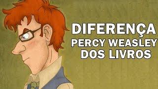 Percy Weasley dos Livros x Percy Weasley dos Filmes