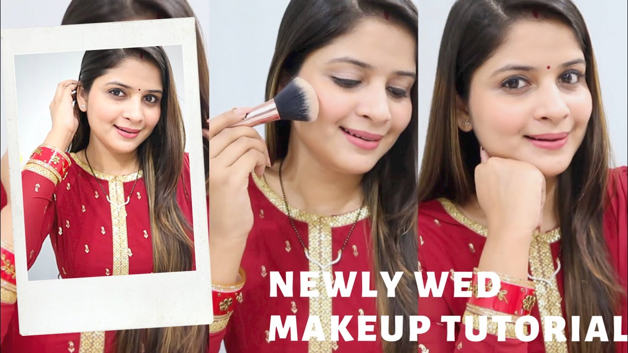 Newly Married Makeup Tutorial || Makeup Hacks || Be That Diva