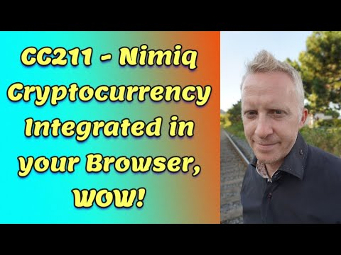 CC211 - Nimiq Cryptocurrency Integrated in your Browser, WOW!