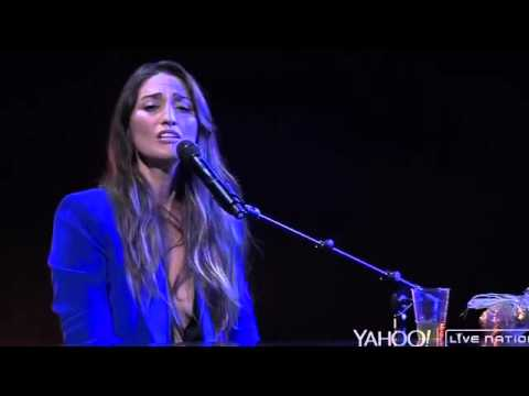 Sara Bareilles  Sittin' on the Dock of the Bay cover  Yahoo Live Concert 05.11.15