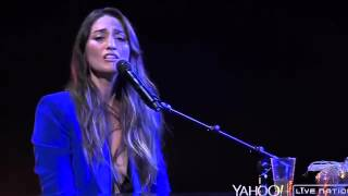Repeat youtube video Sara Bareilles - Sittin' on the Dock of the Bay (cover) - Yahoo Live Concert 05.11.15