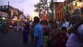 Hindu Temple  Festival 1/2 - Negombo Sri Lanka