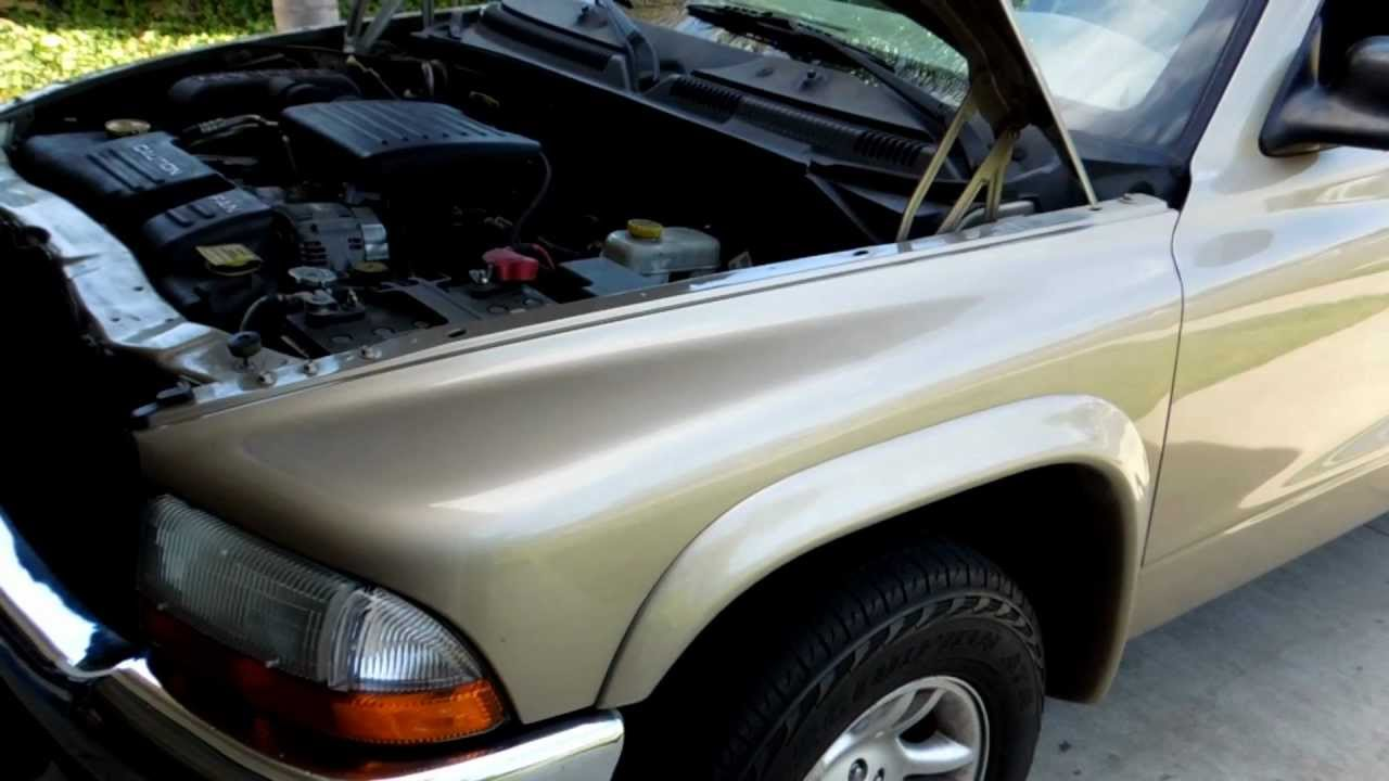 small resolution of 2003 dodge dakota 4 7l v8 evap canister and hoses location youtube dodge v8 truck engine diagram
