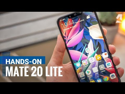 Huawei Mate 20 Lite hands-on review