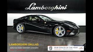 2016 Ferrari F12 Berlinetta Nero 18L055B