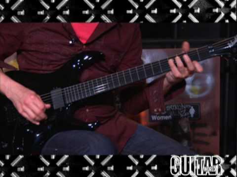 washburn hm series wm526 guitar youtube