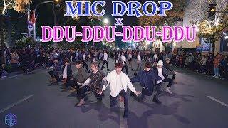 [KPOP PUBLIC CHALLENGE] BTS & BLACKPINK - MIC DROP X 뚜두뚜두(DDU-DU DDU-DU) MASHUP Dance Cover @FGDance