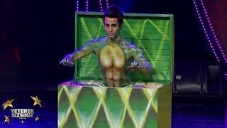 Cüneyt Acar | Popping dans performansı | 2. Sezon | Yetenek Sizsiniz Türkiye