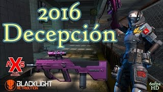 "Blacklight Retribution Gameplay #78 ""2016 Decepción"" En español Metro, Offshore 60FPS"