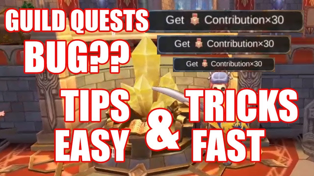 Ragnarok Mobile : Guild Quest Tips & Tricks