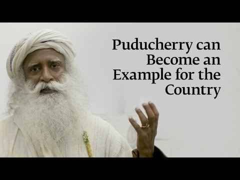 Puducherry can Become an Example for the Country