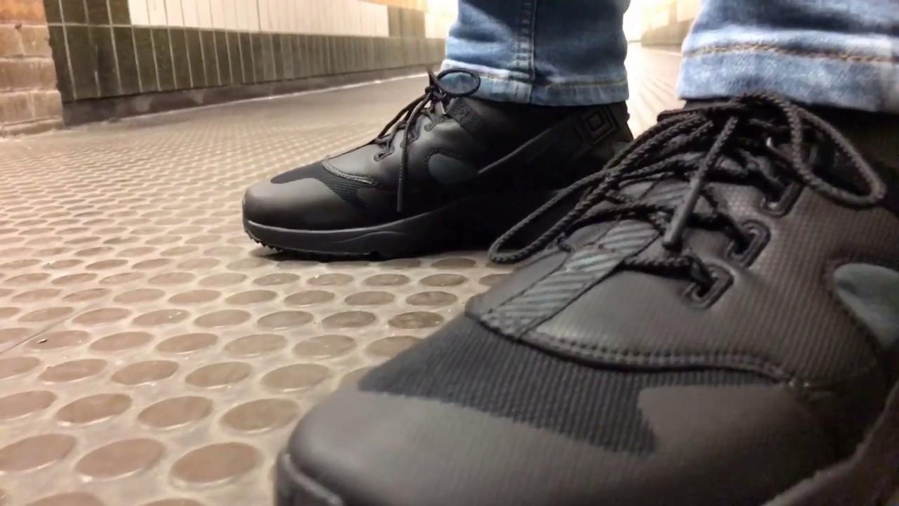 de3f11f353fb Nike Shoes Men s Air Huarache Utility Premium Black - from Landau Store  🎄🎄 - YouTube