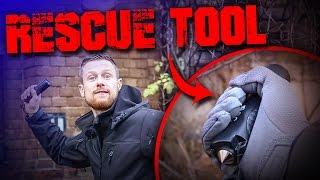 Günstige Outdoor Ausrüstung - Rescue Tool Taschenlampe Survival Camping Deutsch