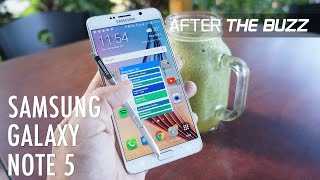 Samsung Galaxy Note 5 - After The Buzz, Episode 53