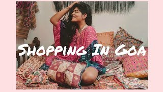 best place to shop in goa travel to goa with me