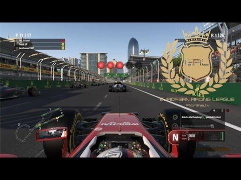 F1 2016 ERL S3 Round 5: Azerbaijan - Baku Grand Prix