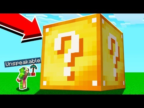 DON'T OPEN THE WORLD'S BIGGEST LUCKY BLOCK...