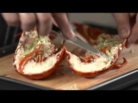 How To - prepare a cooked lobster