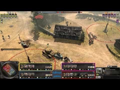 COH2 2v2 Nightcloud (UK) & Brickman (SU) vs Aquila (OH) & verrekkte mongol (OK)
