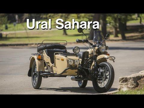 Ural Sahara sidecar motorcycle