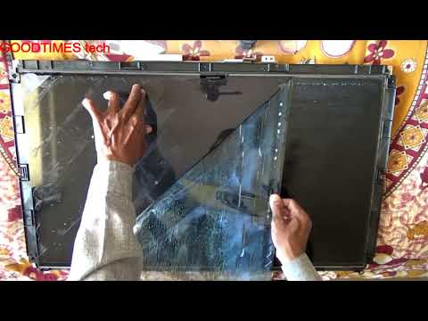 LCD Or LED TV | How To Replace Polarizer Film