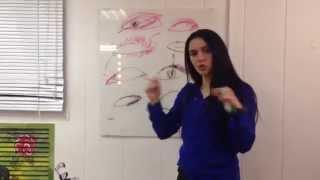 видео Как красиво накрасить глаза различной формы и цвета