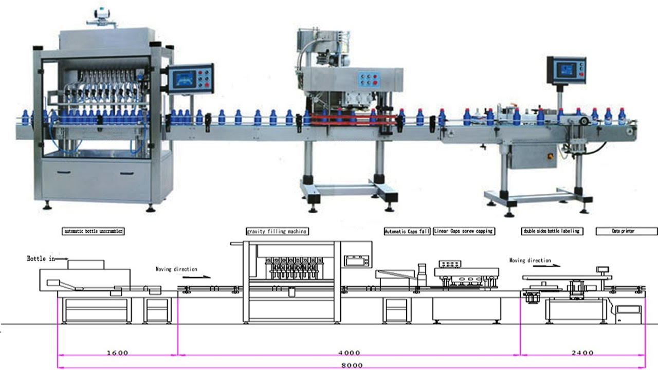 Oil Bottle Filling Capping Labeling Machines  U30ad U30e3 U30c3 U30d4 U30f3 U30b0 U30e9 U30d9 U30ea U30f3 U30b0