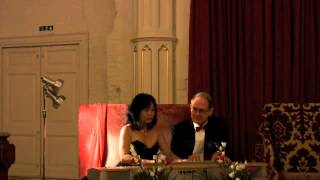 Brahms - Hungarian Dance No. 5 in F sharp Minor -  Linda Ang & Robert Stoodley