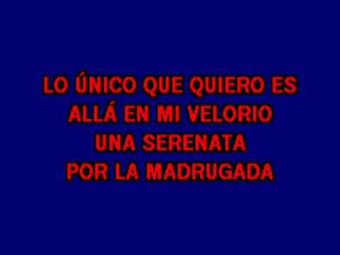"Karaoke Michael Salgado ""Cruz De Madera"""