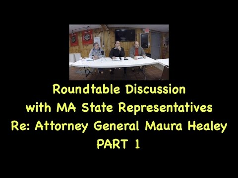 Gun Law Roundtable Discussion With Massachusetts State Representatives PART 1