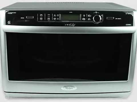whirlpool microwave oven jet chef jt 369 product presentation french youtube. Black Bedroom Furniture Sets. Home Design Ideas