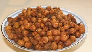 Oven Roasted Spicy Chick Peas