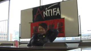 【ANTIFA黒い彗星 発足記念講演】第2部 vol.3 !!! スプレイ編