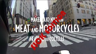 Meat and Motorcycles: Chicken Soup on Moto Guzzi V7 Stone