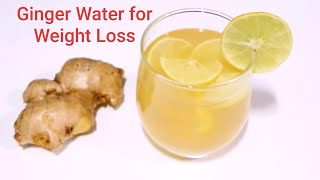 Ginger water fo weight loss    fast drink belly fat burn #weightlossdrink