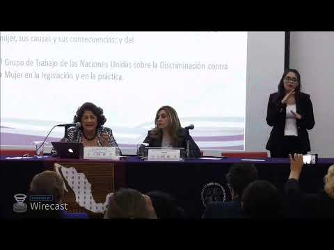 Foro Alertas de violencia de género, Mesa III