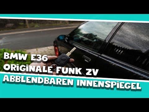 BMW E36 Innenspiegel automatisch Abblendend mit Funk