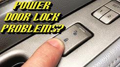 2003-2006 Lincoln Navigator Power Door Locks Inoperative: Quick Diagnostic Methods