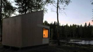 Tiny One-room Timber Cabin Boasts Picturesque Lakeside Views I...