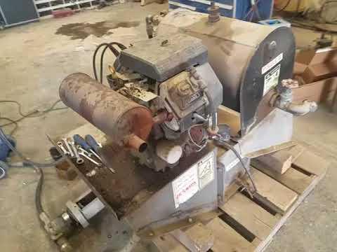 Kohler Electric Start Gas Engine With Hydraulic Pump