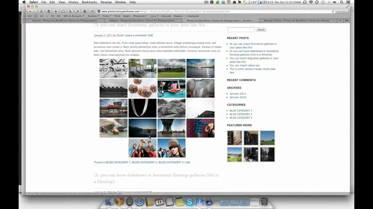 NextGEN Gallery Widgets