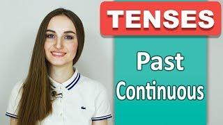 PAST CONTINUOUS (Прошедшее длительное) - Времена в английском - English Spot