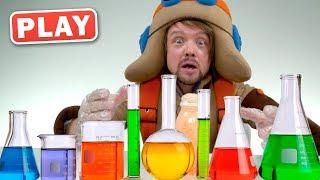 КУКУТИКИ PLAY - Эксперименты - Бурлящая лава - Распаковка игрушек - Поиграйка с Пилотом