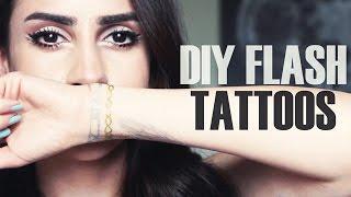 DIY Flash Tattoos | DIY-911